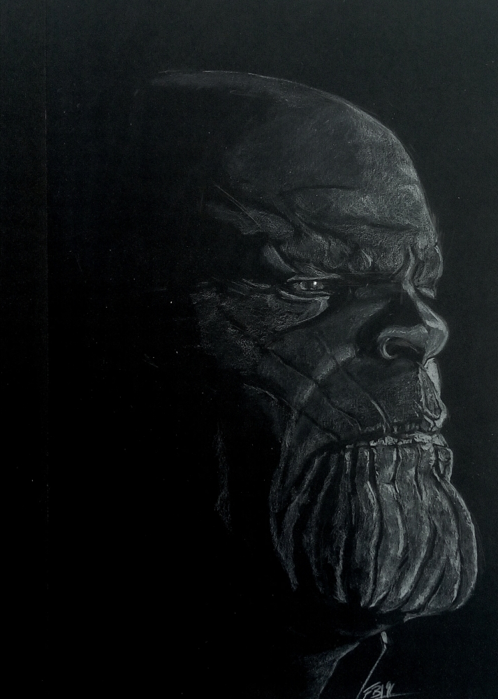 Josh Brolin, Thanos by 13thmonkey